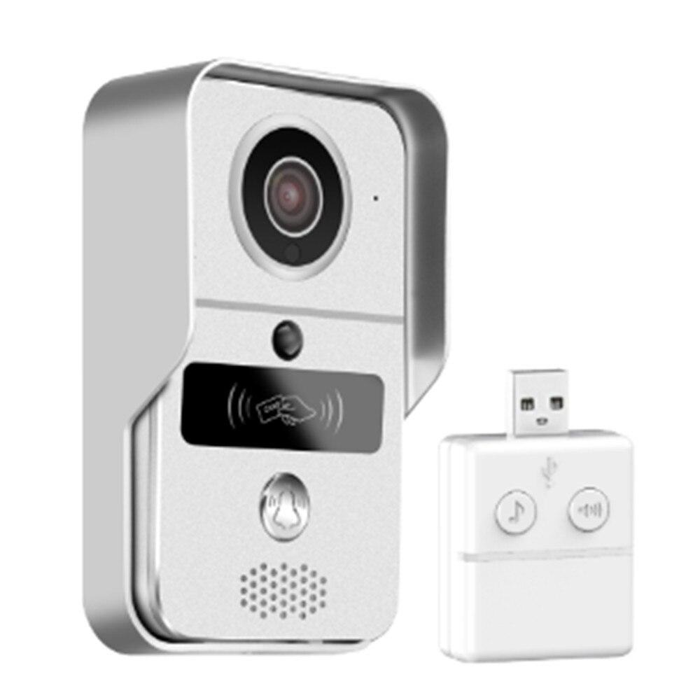 1080P беспроводной WIFI дверной звонок с крытым Chime Yoosee домофон система контроля доступа