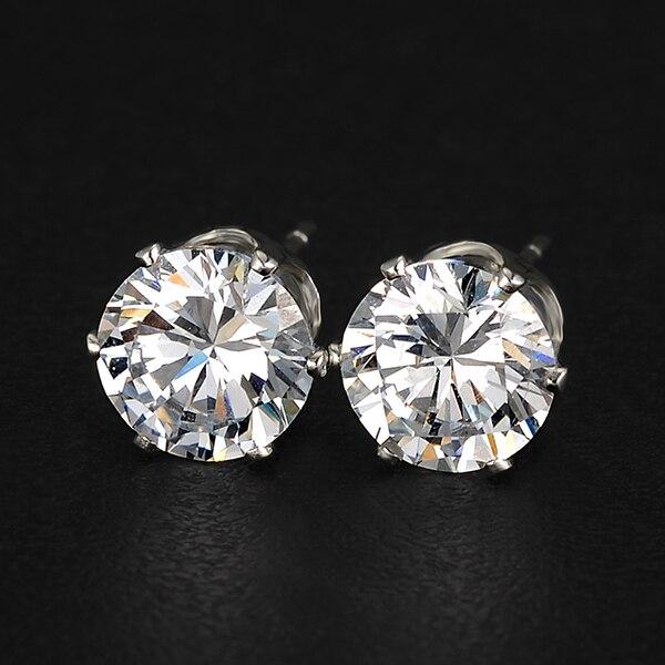17KM Brand Design New hot Fashion Popular Luxury Crystal Zircon Stud Earrings Elegant earrings jewelry for women jewelry earring