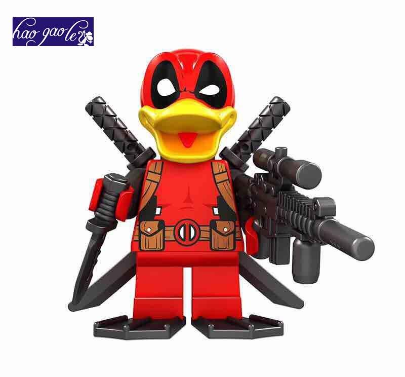 20pcs haoagole Super Heroes McDonald Bricks Building Block
