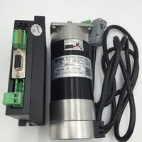 Leadshine бесщеточный Серводвигатель комплект 25 Вт 50 Вт 90 Вт 130 Вт 180 Вт + Servo Комплект DC 24/36 В + кабель датчика Комплект для ЧПУ гравер