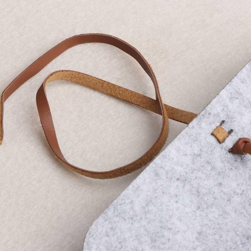 Mulheres Homens Novo Sentiu Sacos De Óculos De Sol Casos de Óculos Moles Portátil Pacote de Acessórios Fecho de Cinto