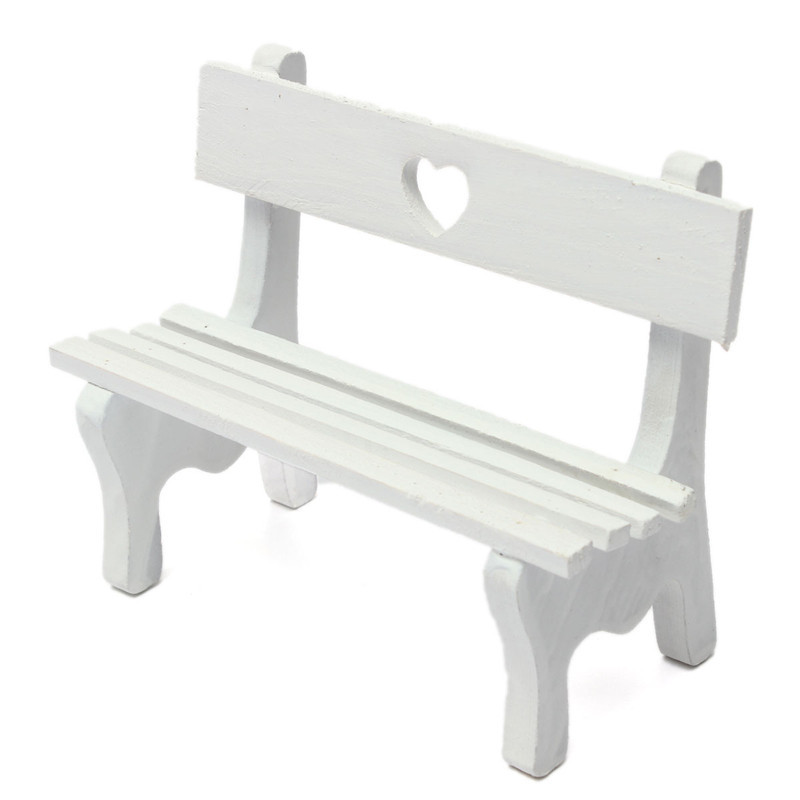 Multi Pattern Optional Mini Chair Bench Stool Ornaments Wooden Props ...