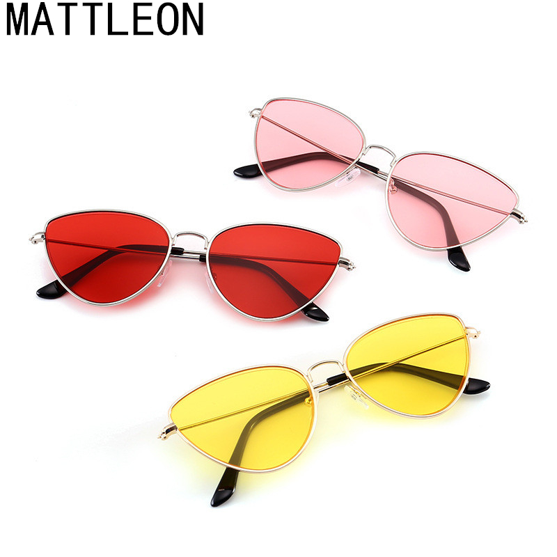 Più venduti Occhiali Da Sole Donne Nuovo Moda Cat Eye occhiali da sole colorati 2020