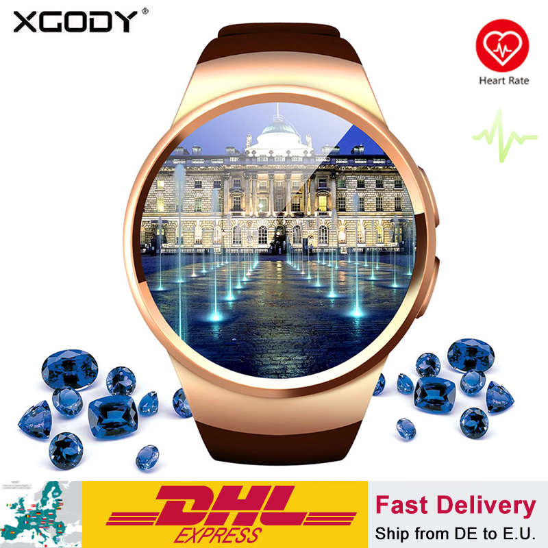 XGODY KW18 Smart Watch Connected Wristwatch For Samsung Xiaomi Android Support Heart Rate Monitor Call Messager Smartwach phoneXGODY KW18 Smart Watch Connected Wristwatch For Samsung Xiaomi Android Support Heart Rate Monitor Call Messager Smartwach phone