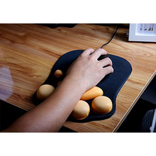 3D Cute Mouse Pad Anime Soft Cat Paw Mouse Pads Wrist Rest Support Comfort Silicon Memory Foam Gaming Mousepad Mat