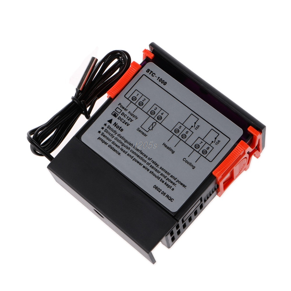 12v 24v Stc 1000 Digital Temperature Controller Thermostat W Ntc The Stc1000 Is A With Sensor That Temperatural Instruments T12 Drop Ship In From Tools On