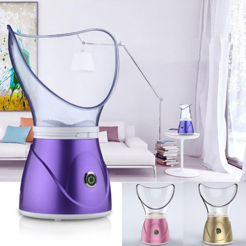 370W Face Steamer Moisturizing Mist Steam Sprayer Facial Humidifier Thermal Sprayer Skin Care Deep Cleanser Beauty Instrument