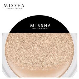 Image 3 - MISSHA M Magic Air Cushion Whitening Immaculate BB cream sun block Foundation Concealer Makeup Original Korea Cosmetics #21 #23