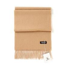 Femmes solide couleur plaine 100% cachemire foulards avec gland dame hiver  chaud épais écharpe de luxe de haute qualité femelle . 837b6c46096