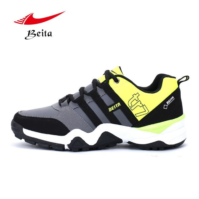 Winter Warm wear resisting thickening leisure waterproof leather running shoes men's sports shoes