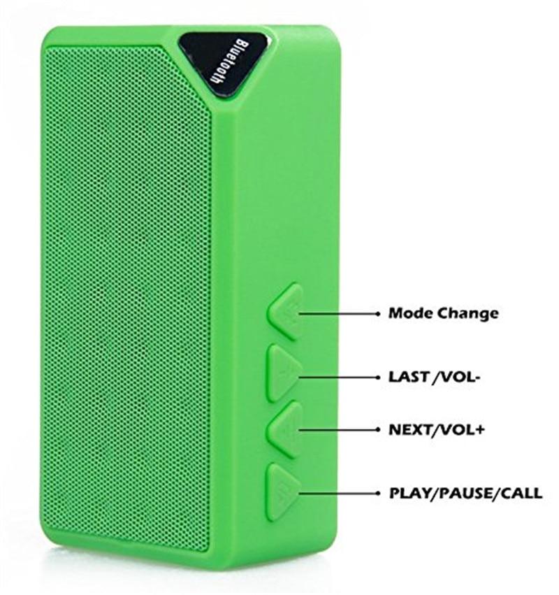 Mini altavoz bluetooth estilo de moda inalámbrico portátil de - Audio y video portátil - foto 6