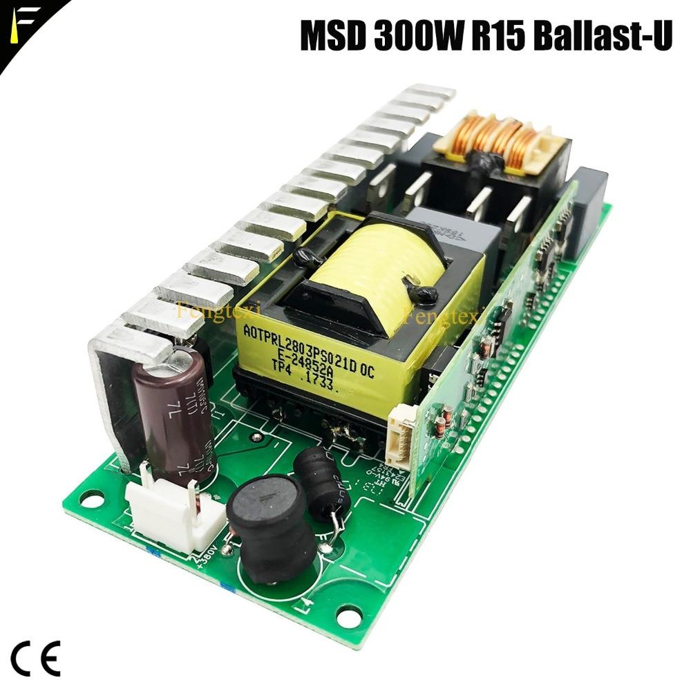 Светильник балласт MSD 300 R15, выход U 300 Вт, бренд YODN MSD 15R 300 Вт, инвертор балласта, точечный светильник, воспламенитель 135x50x30mm