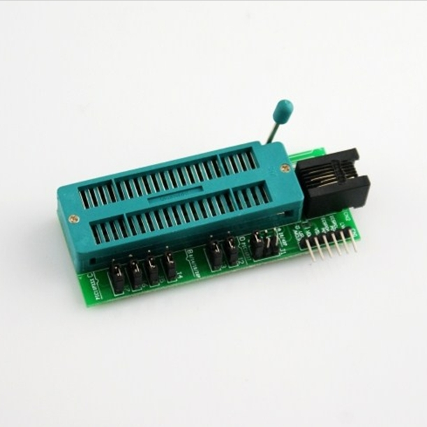 Free Shipping! 1pc ICD2/PICkit2/pickit3 programming connector holder / universal programmer seat / DIP chip