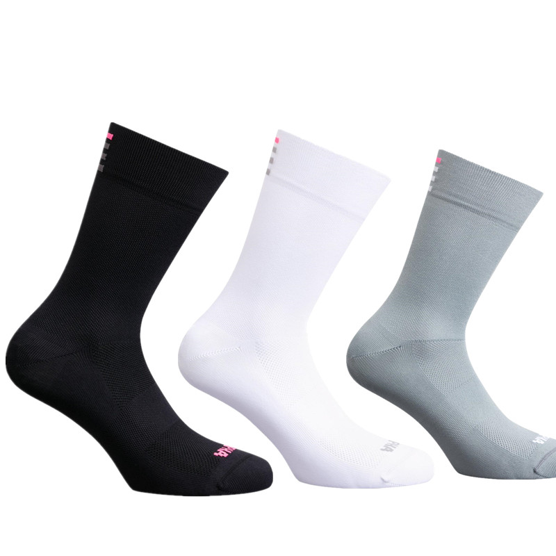 New High Quality Professional Rapha Sport Road Bicycle Socks Breathable Outdoor Bike Racing Cycling Socks