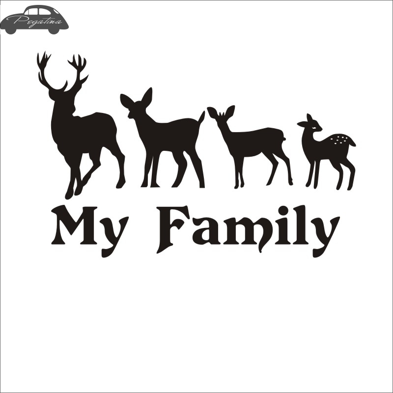 Window Wall Display Forest Wildlife Animal Deer Stag Head Decal vinyl sticker