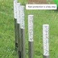 Пять штук акриловые пузыри солнечный светильник газон Открытый водонепроницаемый бар садовый напольный светильник TN99