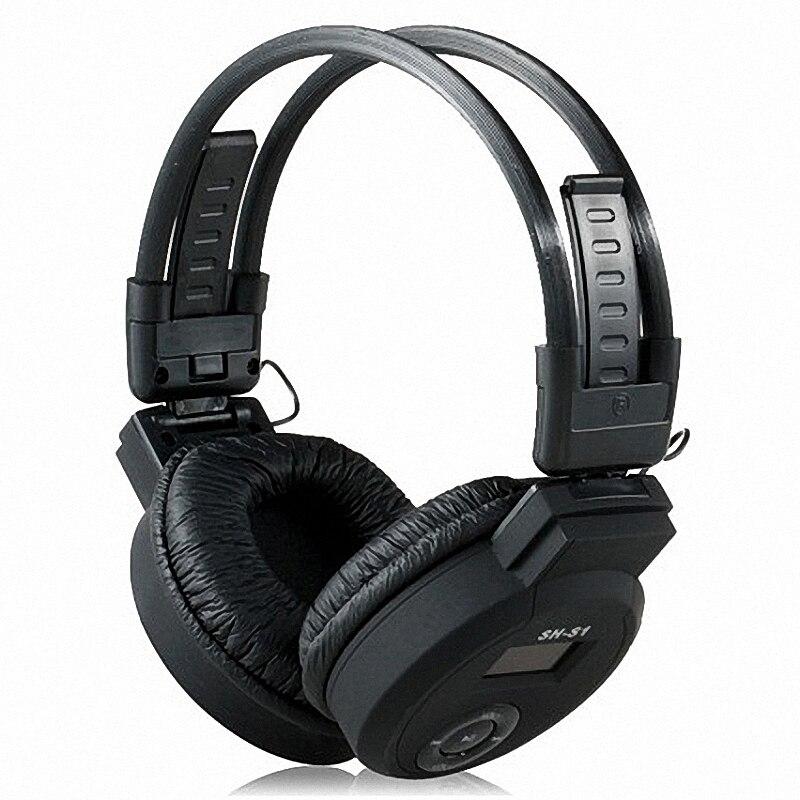 On-ear Foldable Headphone Design MP3 Player Headset + FM Radio + TF Card Reader Earphone