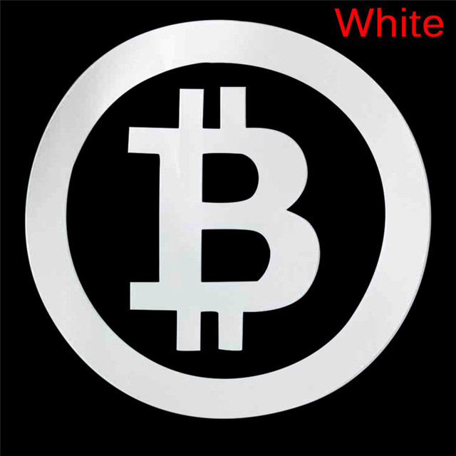 Large Bitcoin Car Sticker Cryptocurrency Blockchain Freedom Sticker Vinyl Car Window Decal 4