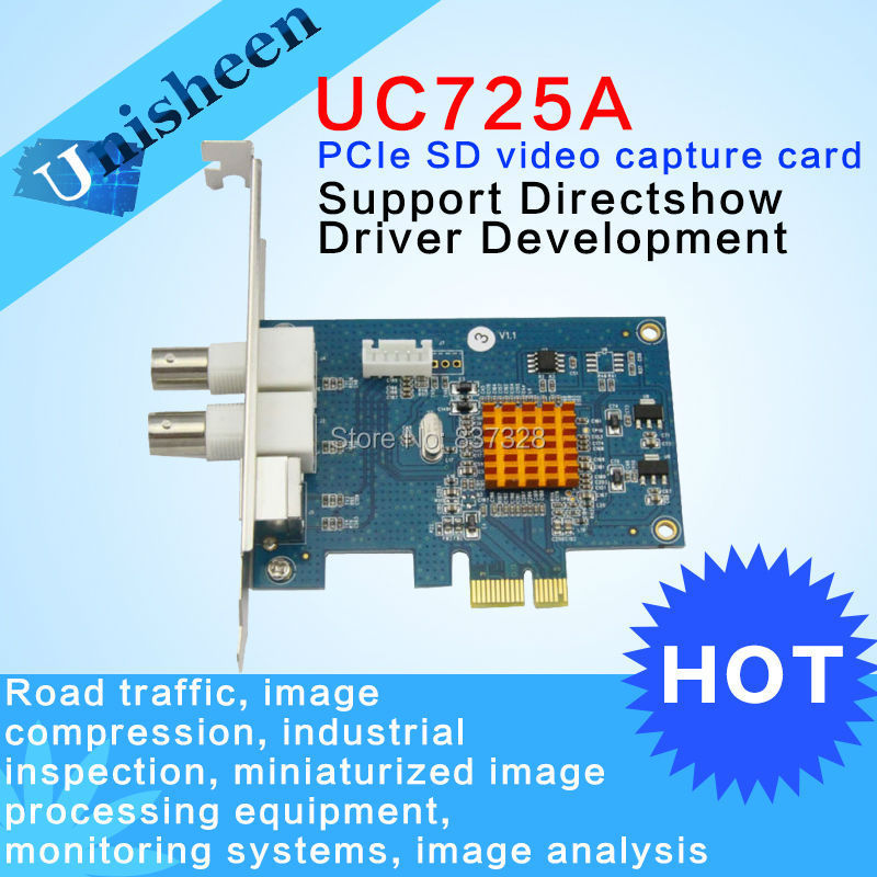 PCIe Video Card BNC S-Video 720*576 SDK WIN7