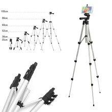 אוניברסלי חצובות פרש 1060mm נייד מקצועי מצלמה חצובה טלפון Tablet Stand מחזיק עבור iPhone iPad סמסונג חצובה