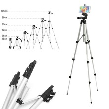 Universal Tripods Unfolded 1060mm Portable Professional Camera Tripod Phone Tablet Stand Holder for iPhone iPad Samsung Tripod