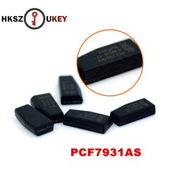 HKSZUKEY klucz samochodowy Chip ID33 Transponder klucz Chip PCF7931AS Chip transpondera PCF7931 wysokiej jakości tanie i dobre opinie Carbon China