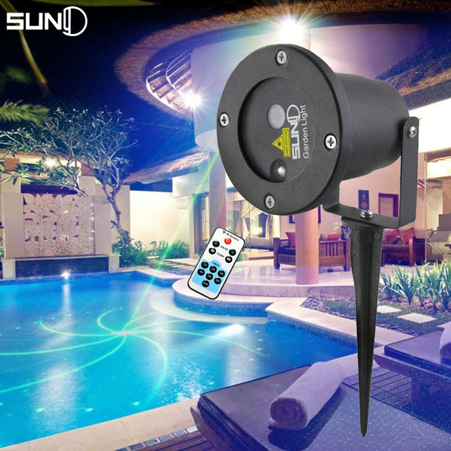 Suny laser project landscape lighting remote control single green 9 suny laser project landscape lighting remote control single green 9 patterns led blue light waterproof outdoor aloadofball Image collections