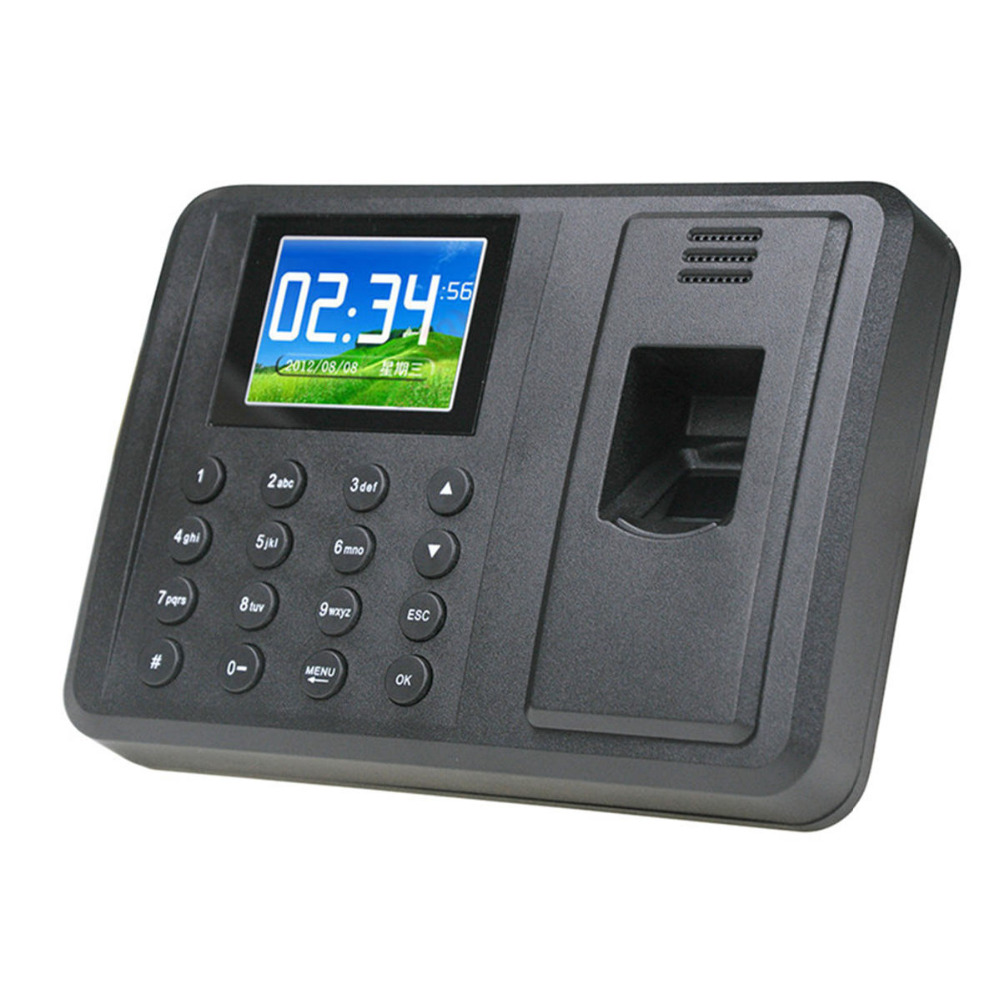 DANMINI Biometric Fingerprint Time Attendance Clock Recorder Employee Digital Electronic RFID Reader Scanner System For Door Loc biometric time attendance fingerprint time recoorder time clock for office employee with usb support english language