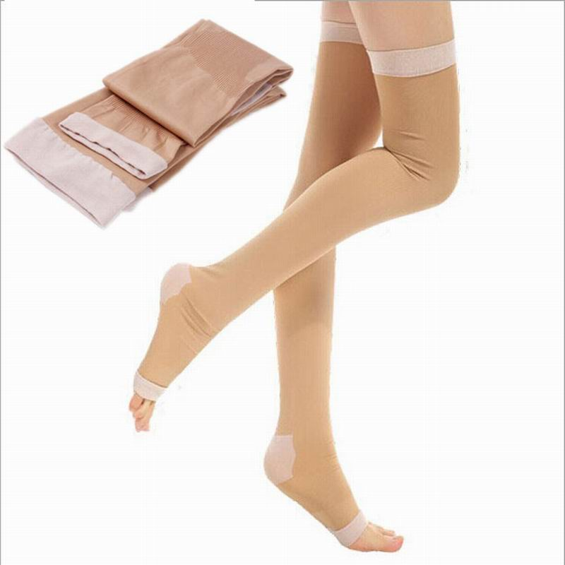 New Professional Medical 420D Compression Stockings for Women Health Anti Varicose Lycra Relax Sleeping Wear Fat Burning
