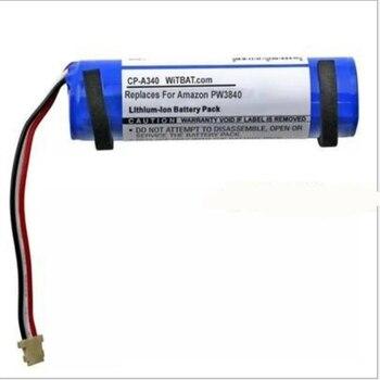 5pcs/lot TTVXO Battery for Amazon PW3840 Bluetooth Loudspeaker Battery 58-000138