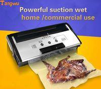 Fresh World Vacuum Packing Machine Commercial Wet And Dry Seal Machine Full Automatic Vacuum Machine