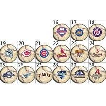 Americano de beisebol 107 16-30 Hot Sale 18mm/12mm/20mm Botão Botão De Pressão de Vidro para As Mulheres Charme Pulseira Acessórios de Jóias