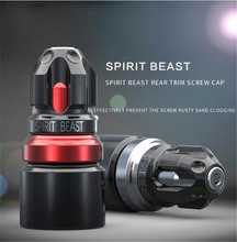 SPIRIT BEAST Motorcycle Personalized Accessories Screw Cap Electric Car Creative Decorative Cover Motorbike Modeling