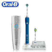 Cepillo dental eléctrico ultrasónico Oral B blanqueador dental recargable  PRO4000 3D cepillo de dientes inteligente cepillo de l. 64cc943d69c4