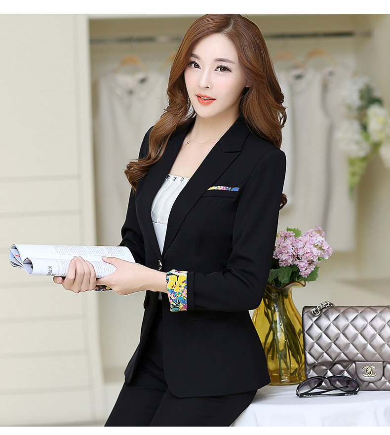 6061bcc4c0a 2017 New Fashion Women Blazers and Jackets Korean Style Female Long Blaser Coat  Work Wear Blazer Femme Plus Size S-3XL