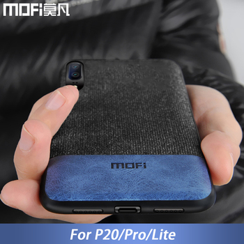 Para huawei tampa do caso P20 P20 Pro tampa traseira borda da tela de silicone proteger caso MOFi original para huawei P20 coque caso Lite