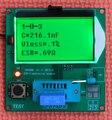 Gm328a DIY Transistor Tester para a rádio / walkie talkie LCR \ ESR medidores de corrente capacitância metros LCD - Display para rádio amador HAM