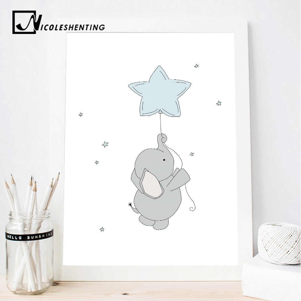 Baby Nursery Wall Art Canvas Print