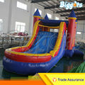 Popular Outdoor Middle Size Inflatable Castle House with Slide