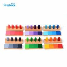 תינוק צעצוע מונטסורי 24 חתיכות צבע דמיון מיון משימות עץ לגיל רך לגיל הרך לילדים Brinquedos Juguetes