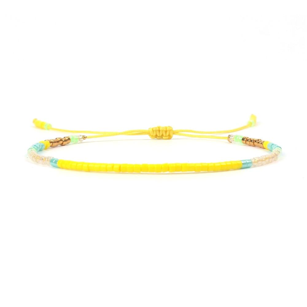 2018 Fashion Adjustable Friendship Bead Bracelet Handmade Woven Japanese MIYUKI Seed Beads Bracelet Women Men Gift