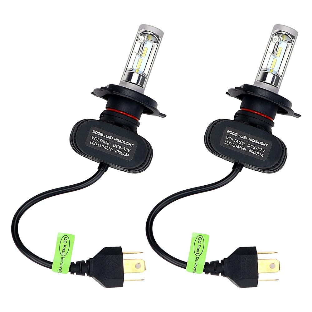 ITimo 50W/set DRL 6500K 1 Pair Super Bright Fog Light LED Car Headlight Head Lamp Car-styling H4 HB2 9003 pair of car fog light set 9 led fog light bright white lamp left