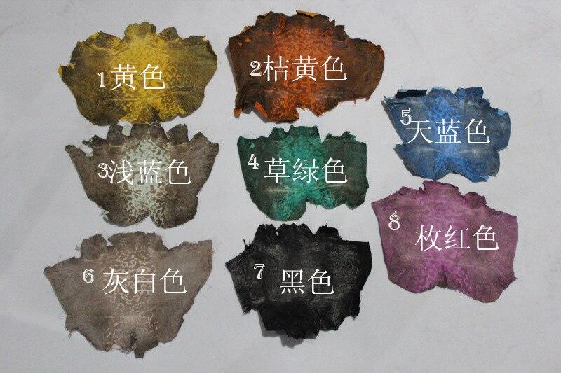 DIY натуральная кожа лягушки кусок кожи для продажи 2 шт./лот