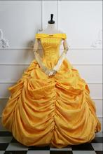 Free Shipping adult princess belle costume Beauty and the Beast costume fantasia cosplay halloween dress costumes for women g jeffreys fantasia for 2 viols and organ