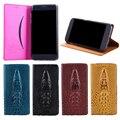 Meizu m3s case capa, 3d design de crocodilo bolsa em couro genuíno virar case capa para meizu m3s mini/m3 s mini phone case