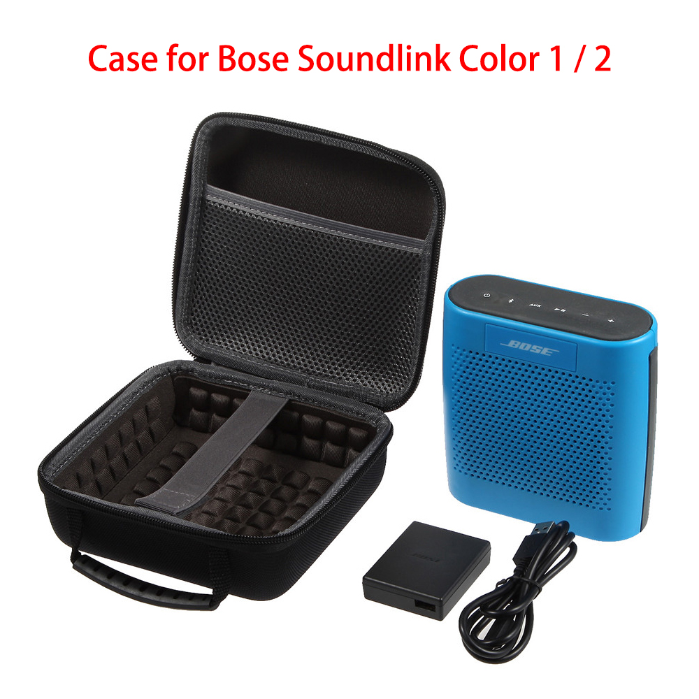 Cheap Price Luckynv Travel Bag Carry Protective Pouch Case For Bose Soundlink Color 1 / 2 Bluetooth Wireless Speaker Hard Box
