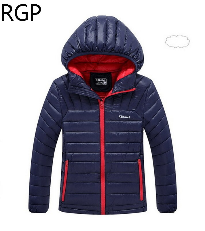 Hot Sale 2017 Winter Down Coats for Boys Winter Jackets Hooded Coats Thick Parkas Warm Wadded Jacket Boys Cotton Outerwear 6-16T casual 2016 winter jacket for boys warm jackets coats outerwears thick hooded down cotton jackets for children boy winter parkas