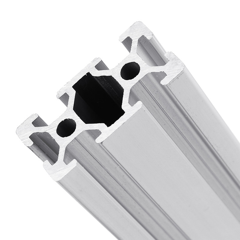 <font><b>2040</b></font> 1000mm Length <font><b>T</b></font>-<font><b>Slot</b></font> Aluminum Profiles Extrusion Frame For CNC 3D Printer Plasma Lasers Stands Furniture image