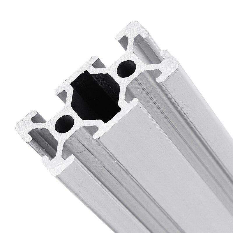 2040 1000mm longueur t-slot profilés en aluminium cadre d'extrusion pour CNC 3D imprimante laser Plasma se dresse meubles