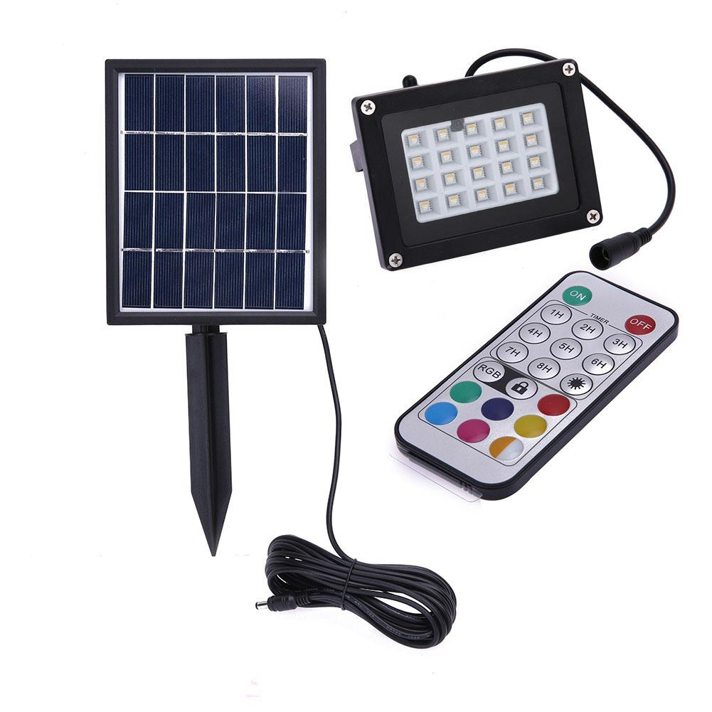 LumiParty Waterproof Solar Lamp Lawn Lights Outdoor 7 Colors Landscape Light for Garden Landscape Courtyard Spotlights a landscape overview of antoniadis garden